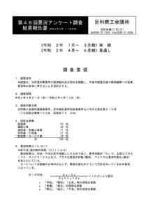 第46回景況アンケート調査結果報告書_完成品のサムネイル