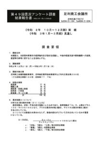 ★第49回景況アンケート調査のサムネイル